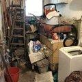 Prádelna před vyklizením