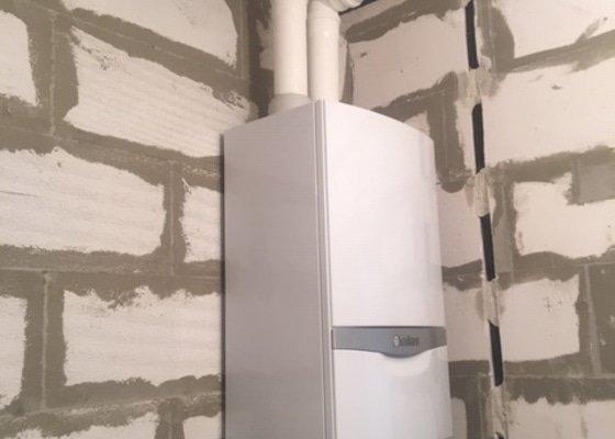 Podlahové topení + Plynový kon. Kotel