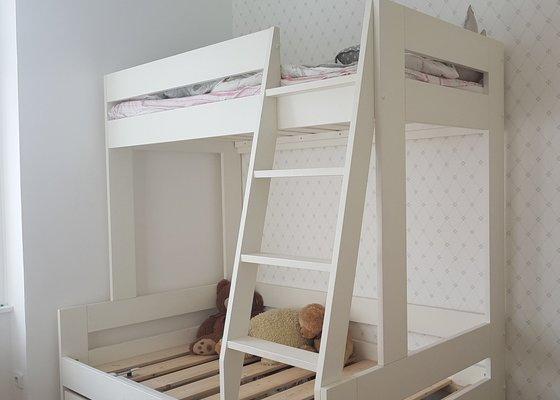 Koupelnovy nabytek, vestavena skrin a patrova postel do detskeho pokoje
