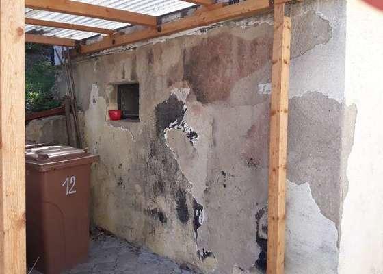 Oprava fasády na rodinném domě