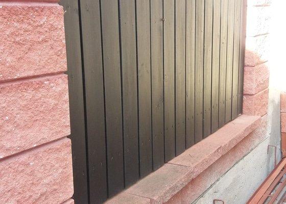Plot z betonových tvárnic KB BLOK