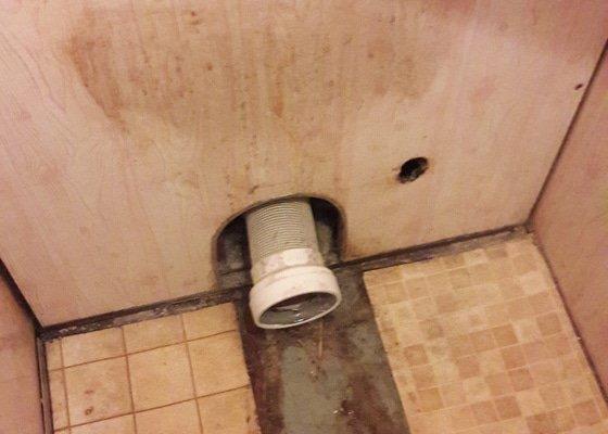 Výměna starého(havarijní stav) WC za nové, včetně připojeni vysokotlaké hadice na vodovod.