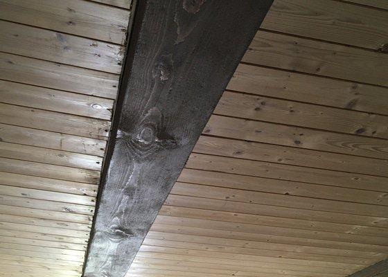 Obložení stropu kuchyň +chodba