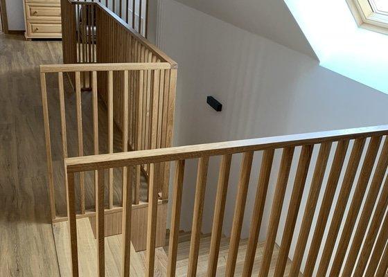 Výroba zábradlí ke schodům