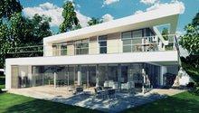 Architektonický návrh rodinného domu Písková Lhota