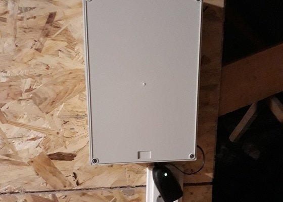EZS + TV anténa + příprava el.vrátný