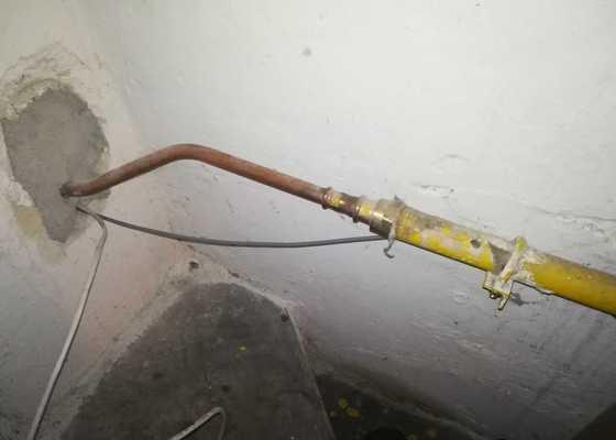 Zkrácení plynového potrubí
