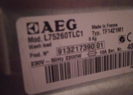 Oprava pračky AEG lavamat