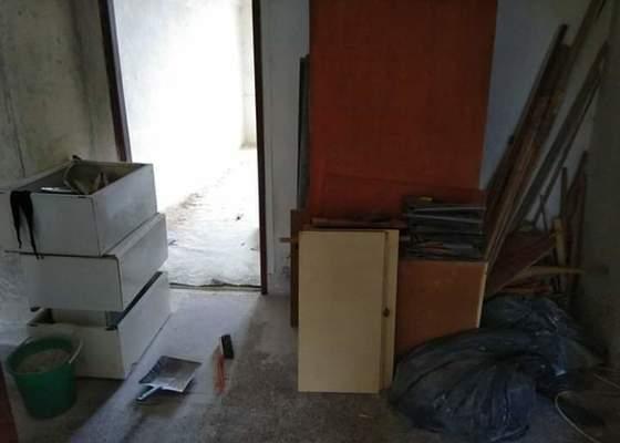 Likvidace odpadu z rekonstrukce bytu