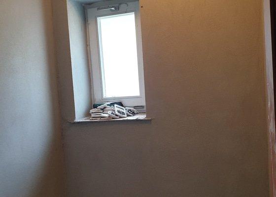 Štukování a dorovnání zdí