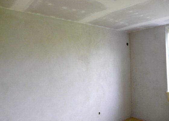 Rekonstrukce 1 pokoje v bytě (rodinný dům)