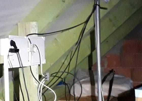 Zaizolování antenového otvoru ve střeše