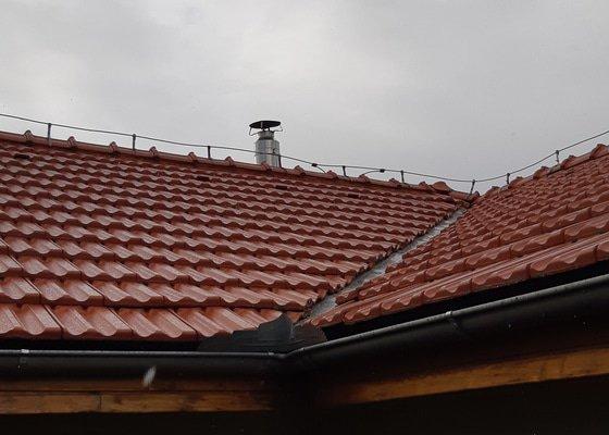 Oprava střechy - úžlabí