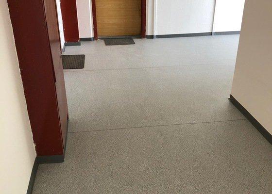 Podlahy na schodištích
