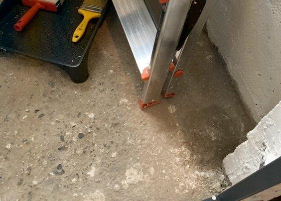 Nová podlaha do sklepu