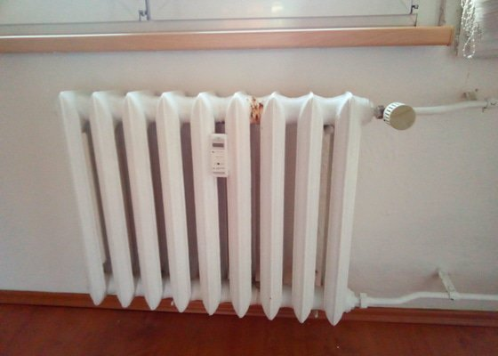 Výměna radiátoru (topné těleso)
