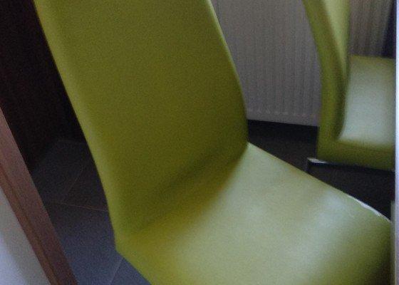Přečalounění 4 židlí