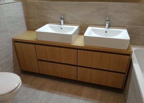 Výroba nábytku do koupelny
