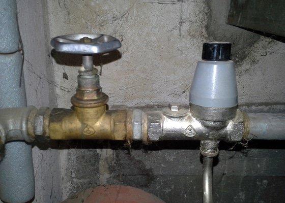 Výměna pojistného ventilu u bojleru