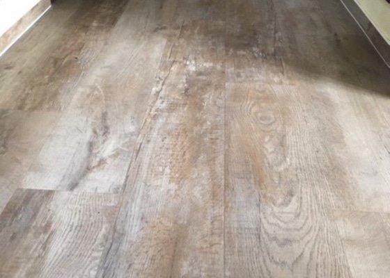 Nalepení koberce a vinylové podlahy