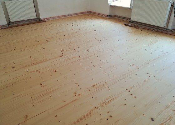 Realizace nové podlahy v RD