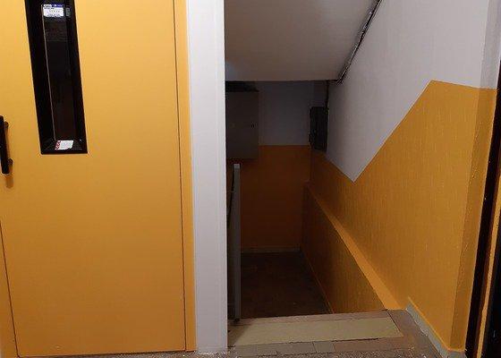 Vymalování společných prostor bytového domu