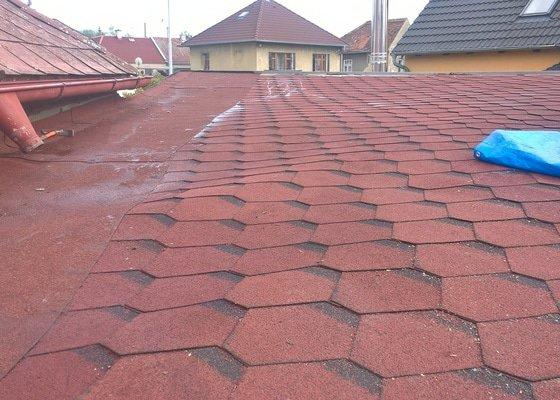 Oprava pultové střechy