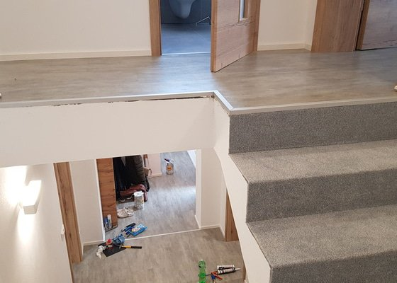 Dodání a montáž vinylové podlahy