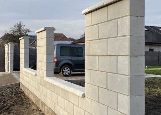 Terénní úpravy po dokončení stavby
