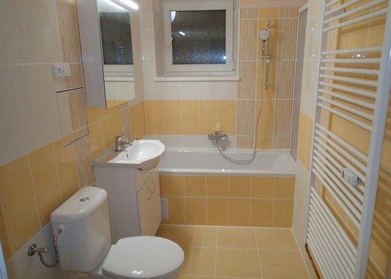 Rekonstrukce koupelny v bytě  Blansku