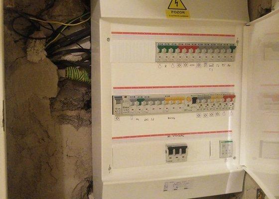 Kontrola a případná oprava/výměna elektroinstalace v RD
