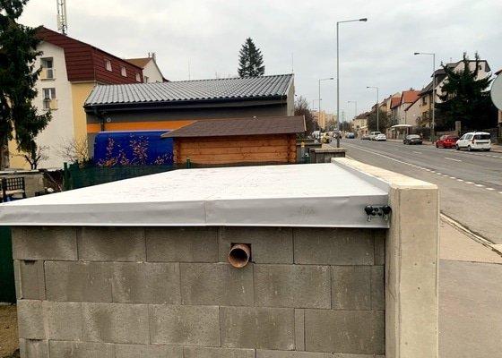 Hydroizolace ploché střechy zahradního domku