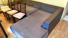 Čištění sedačky, židlí a koberců