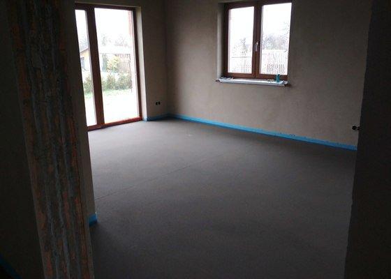 Betonova podlaha novostavba