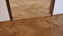 Broušení/renovace parket cca 35m2 + nová podlaha cca 12m2