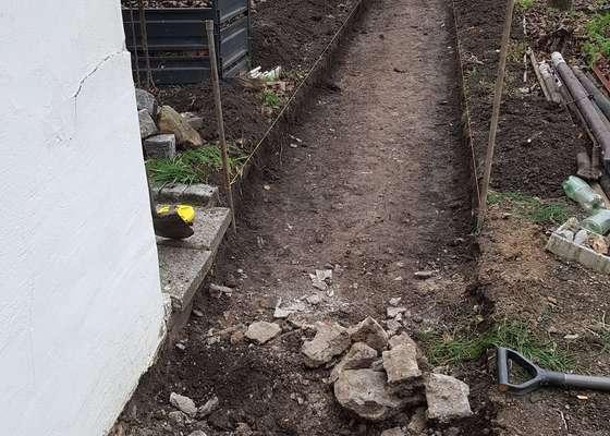 Drobné stavební práce v zahradě