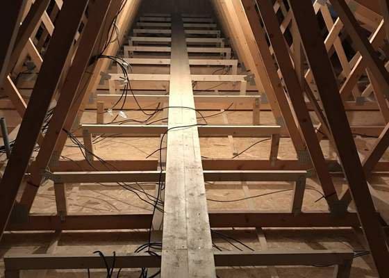 Zateplení stropní konstrukce RD