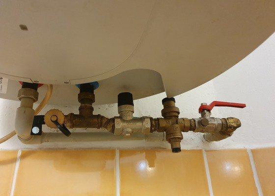 Předělání špatně udělaného přívodu vody do bojleru