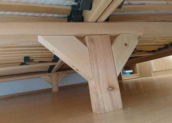 Výroba 2 ks prken/lišt pod postelový rošt