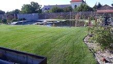 Výsadba rostlin, pokládka trávníku a realizace AZS