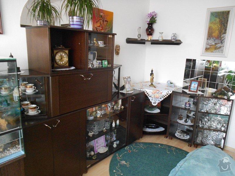 Renovace nábytkové stěny - popřípadě výroba nové: nabytek_stena