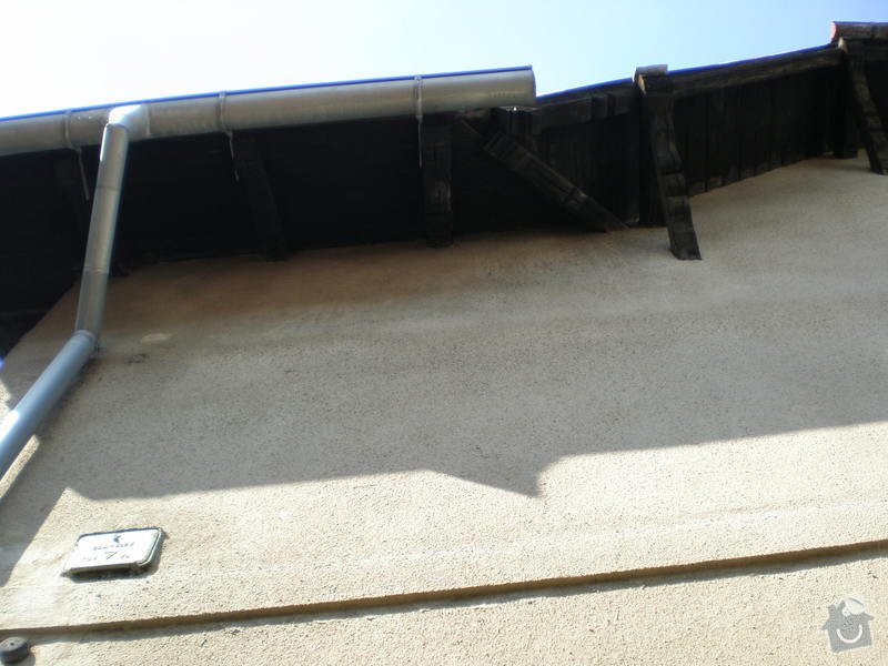 Nátěr střešních trámů: P7161476