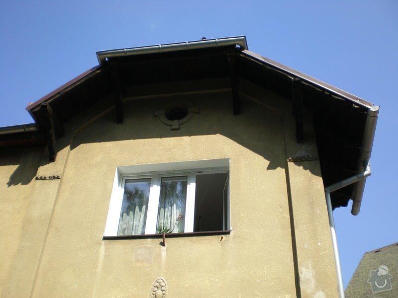 Nátěr střešních trámů: P7161477