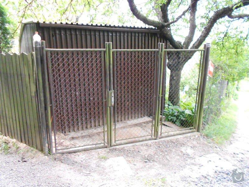 Garážová vrata na DO + zvětšení garáže cca o 1m: 006