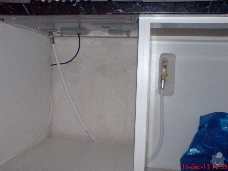 ¨zapojení plynové desky: DSC07937