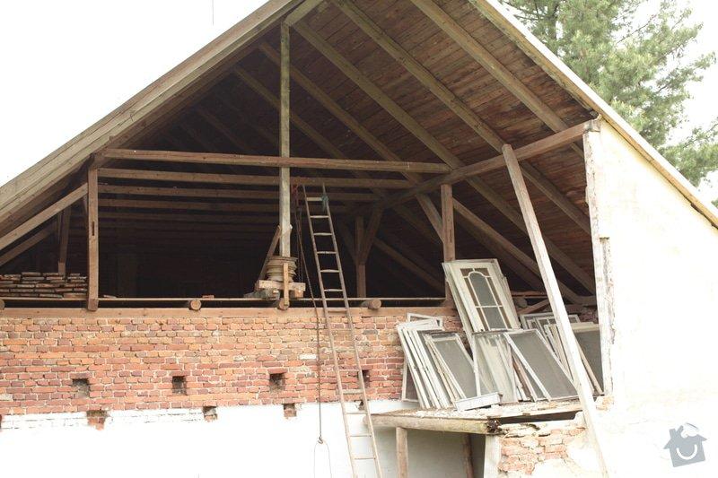 Zkrácení střechy a uzavření štítu : IMG_1906