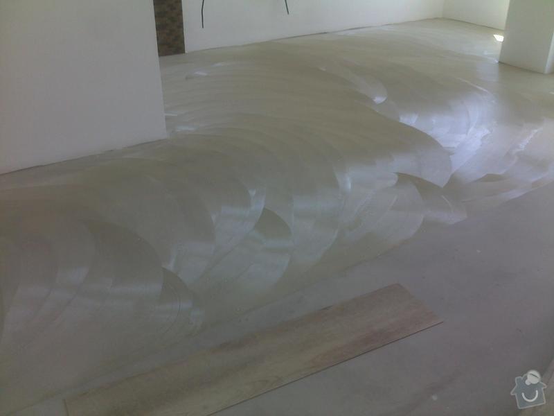 Montáž vinylové podlahy v RD,samonivelační stěrka a montáž obvodových lišt: 08072013559_1_