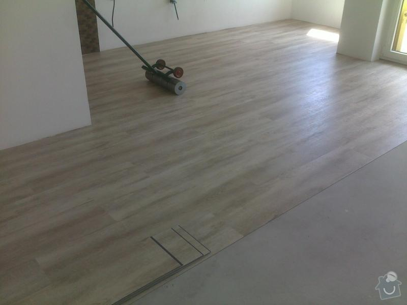 Montáž vinylové podlahy v RD,samonivelační stěrka a montáž obvodových lišt: 08072013562_1_