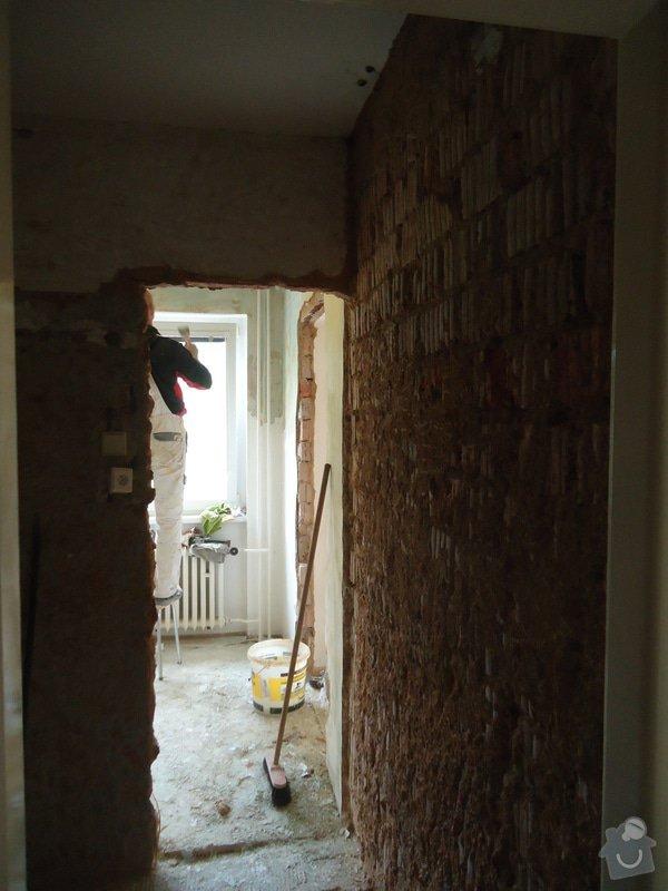 Rekonstrukce kuchyně a koupelny v bytě bytového domu: 01