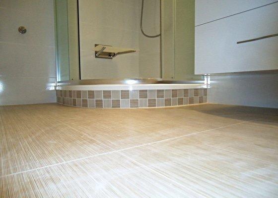 Rekonstrukce kuchyně a koupelny v bytě bytového domu